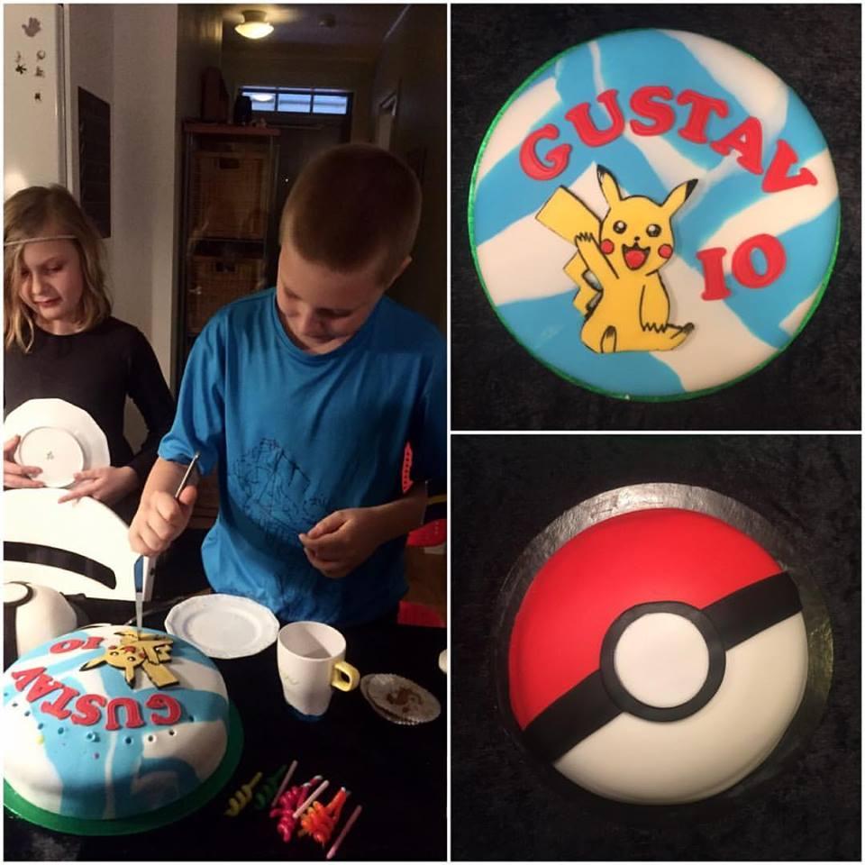 pokemon tårta recept